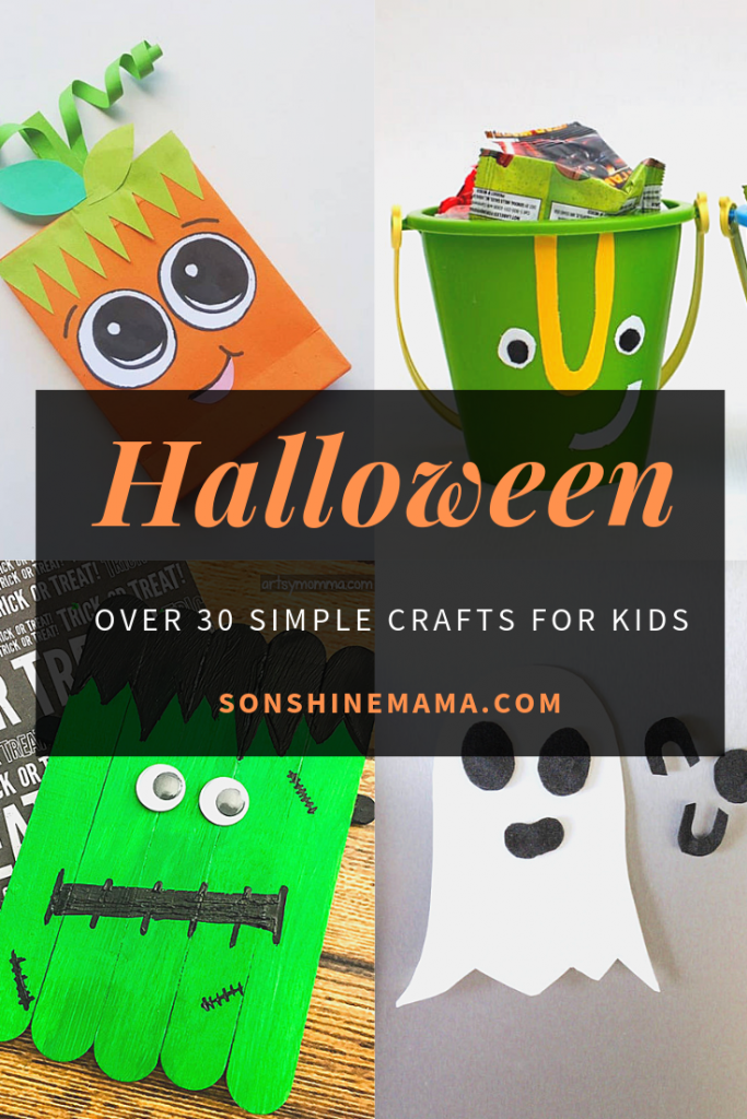 Over 30 Simple Halloween Crafts For Kids Sonshine Mama