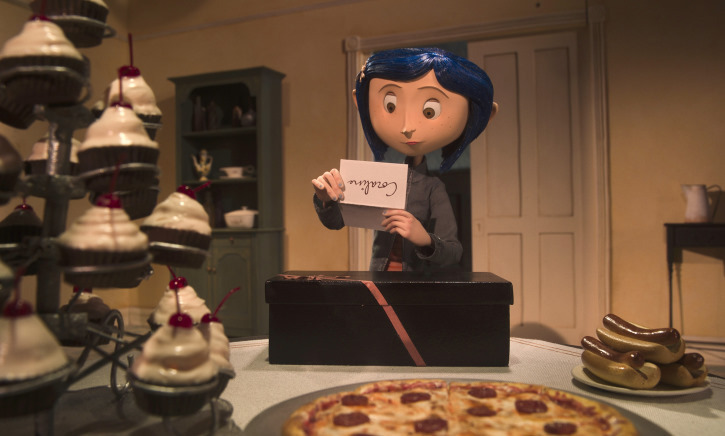 Dakota Fanning is Coraline